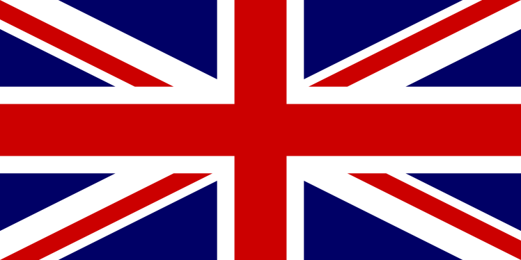 British Jack flag for election