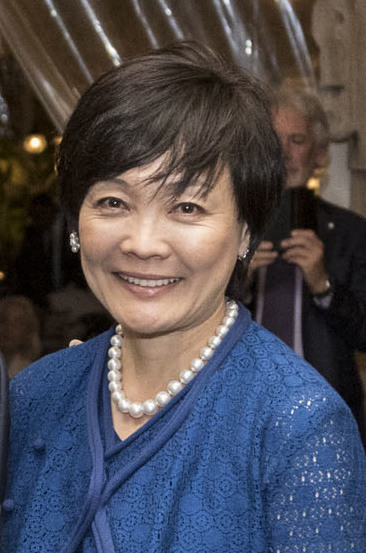 Mrs. Akie Abe (Official White House Photo by Shealah Craighead)