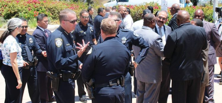 CITY AND COMMUNITY LEADERS MEET FOR PEACE AND UNITY Photo