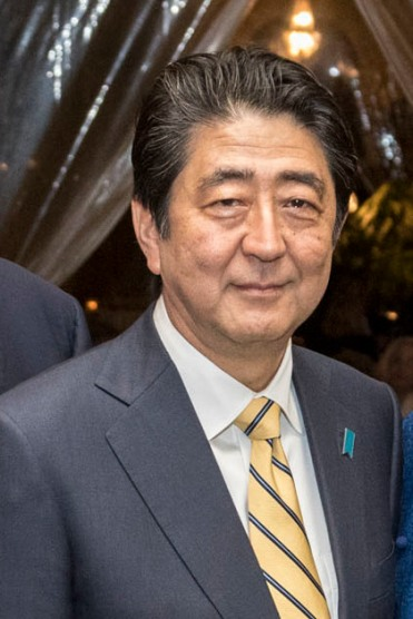 Japanese Prime Minister Shinzō Abe (Official White House Photo by Shealah Craighead)